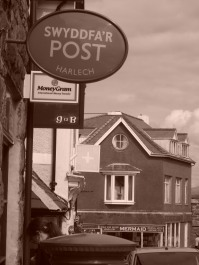 Harlech Post Office