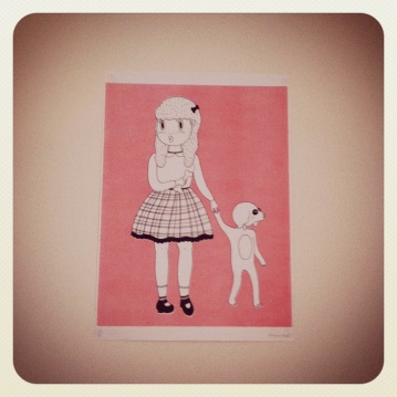 The Girl and the Dog by Donya Todd