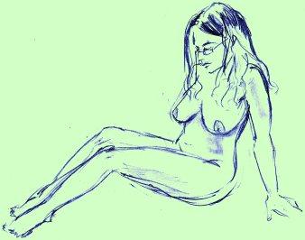 Shy Blue