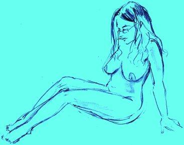 Shy Bluey